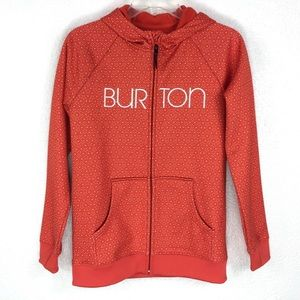 BURTON Girls XL COLUMBO DryRide Full Zip Hoodie